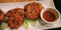 Firecracker Lentil Fritters Rangoon Chinatown Philadelphia