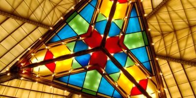 Chandelier Frank Lloyd Wright Synagogue Elkins Park Pennsylvania