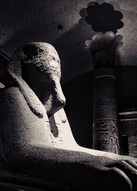 Sphinx - University of Pennsylvania Museum of Archaeology Philadelphia