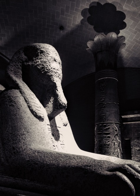 Sphinx - University of Pennsylvania Museum of Archaeology Philadelphia