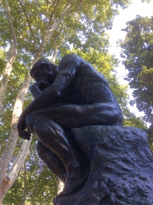 The Thinker Rodin Museum Philadelphia