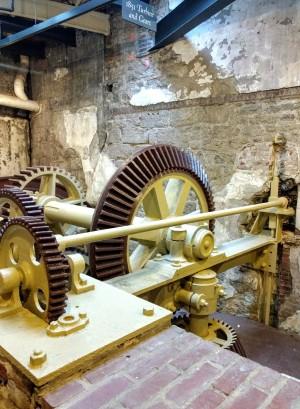 Interior Fairmount Waterworks Museum Philadelphia