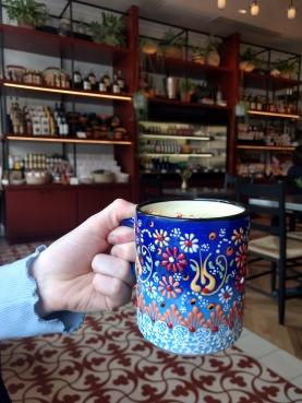 Chai Latte at Suraya Philadelphia