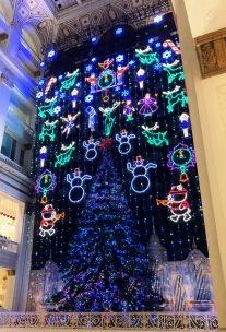 Holiday Light Show Macys Philadelphia