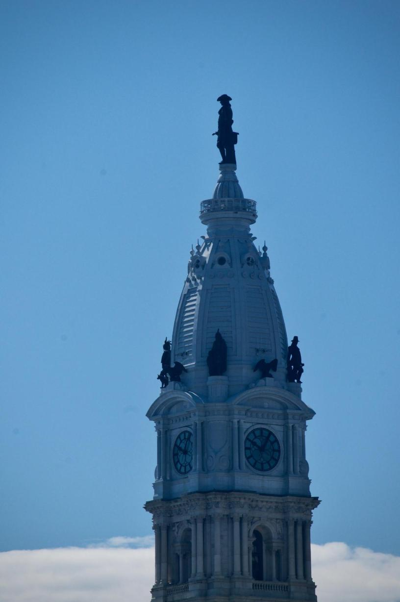 William Penn on City Hall Philadelphia