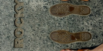 Rocky's footsteps Philadelphia