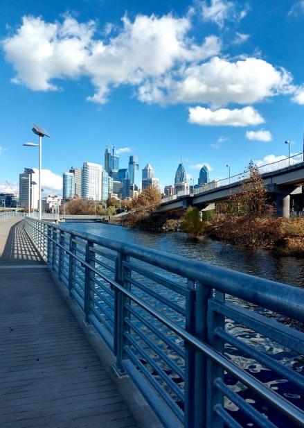 Schuylkill Banks Trail Philadelphia