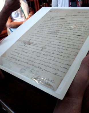Hands on History Rosenbach Library Philadelphia