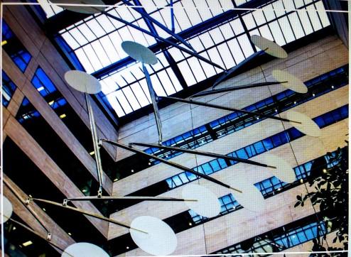 Alexander Calder mobile, Federal Reserve Bank Philadelphia