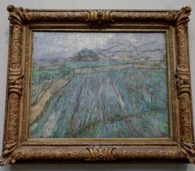 Van Gogh's rain Philadelphia Museum of Art