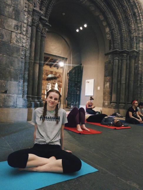 yoga Philadelphia Museum of Art