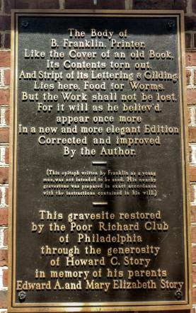 Christ Church burial ground Philadelphia