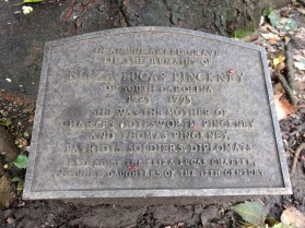 Grave Eliza Pinckney Philadelphia