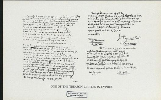 Peggy Shippen letter