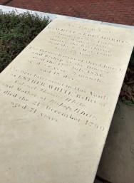 Grave Mary & Robert Morris Philadelphia
