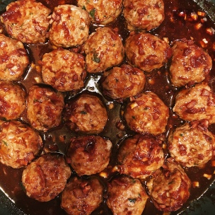 Meatballs Israeli Soul cookbook