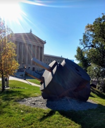 Claes Oldenburg Public Art Philadelphia