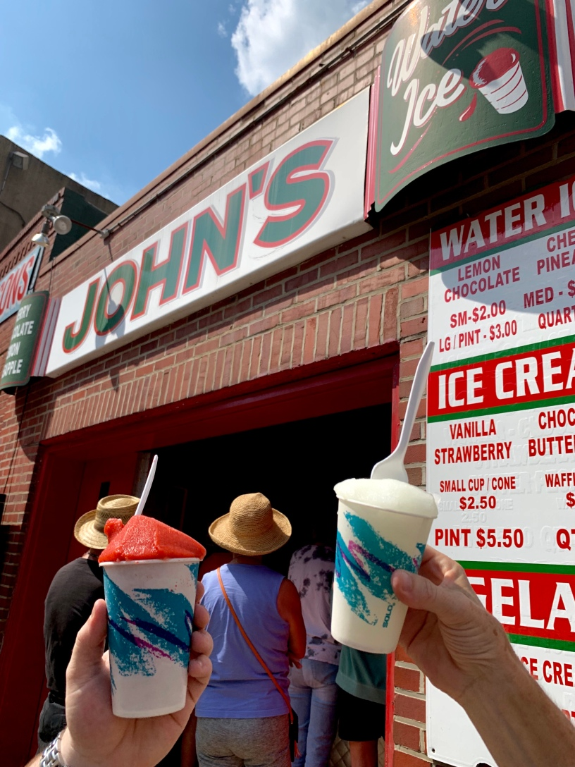 John's Water Ice Philadelphia