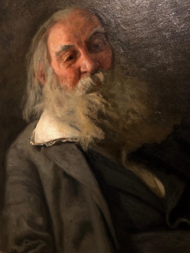 Walt Whitman by Thomas Eakins PAFA Philadelphia