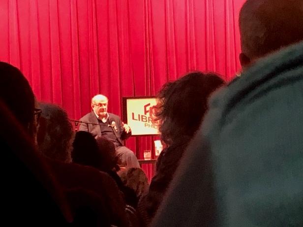 Salman Rushdie Author Talk Free Library of Philadelphia