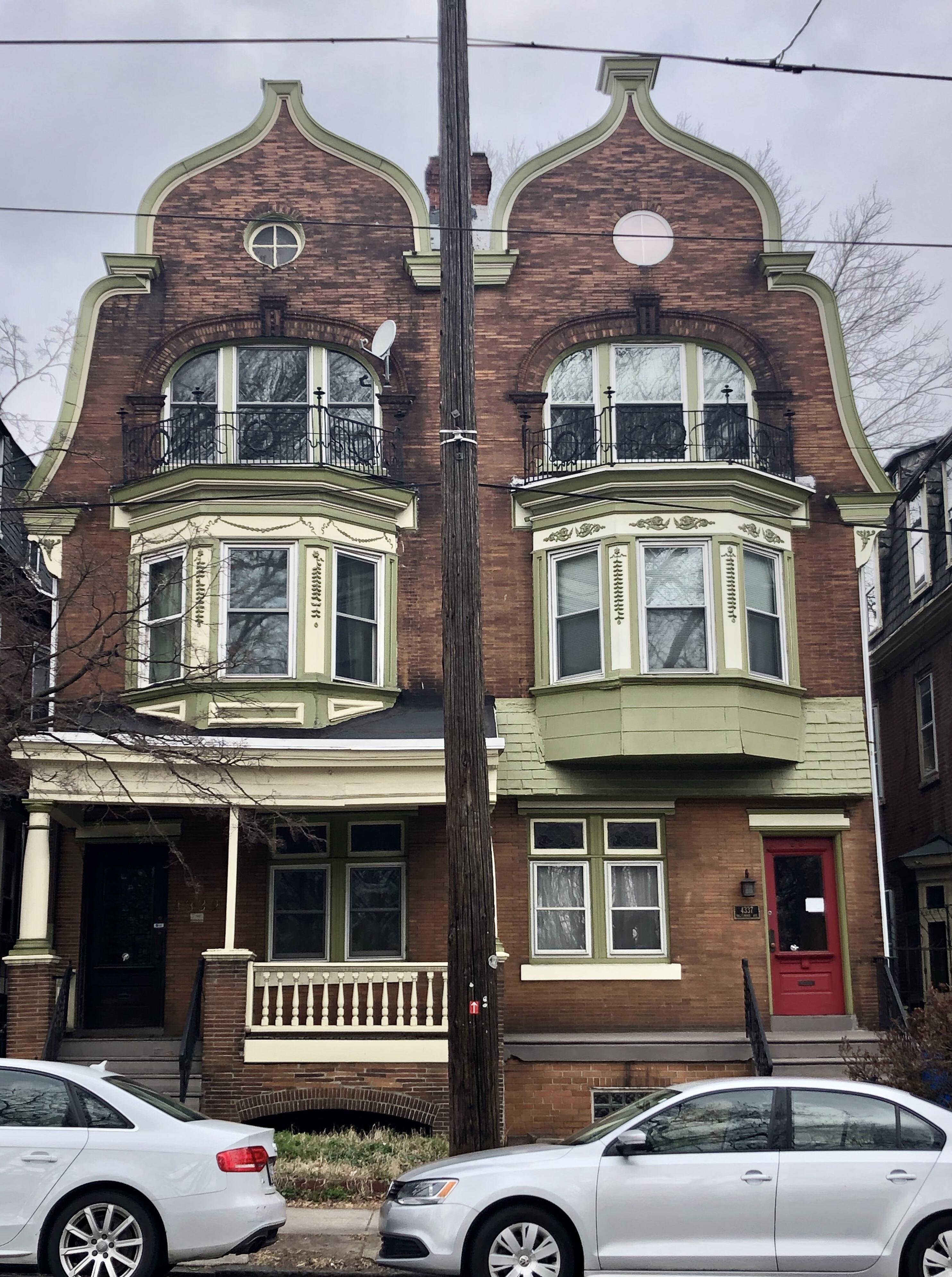 Victorian Houses West Philadelphia