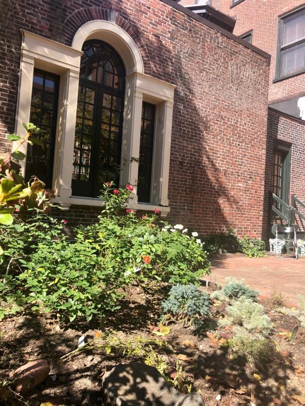Rosenbach garden Philadelphia
